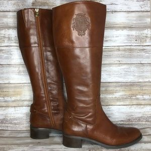 Etienne Aigner Costa Leather Knee High Riding Boot